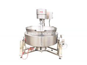 Tilting Braising Pan with mixer
